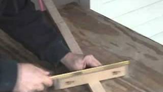How To Fret A Cigar Box Guitar Neck.wmv