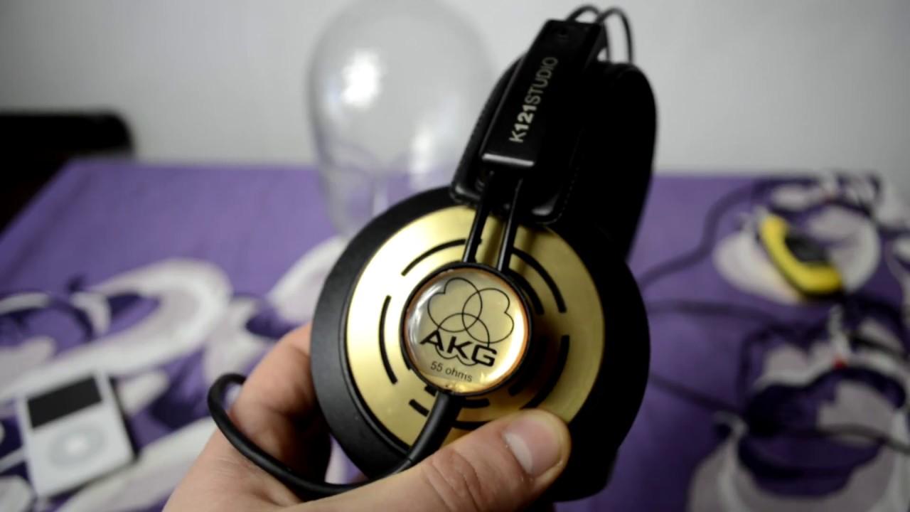 AKG K121 Studio Black Gold