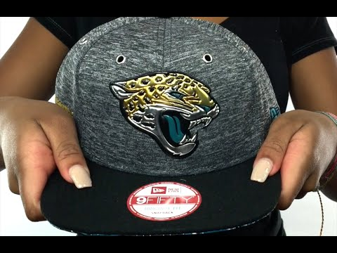 Jaguars  2016 NFL DRAFT SNAPBACK  Hat by New Era - YouTube b5b4d4a0c8e