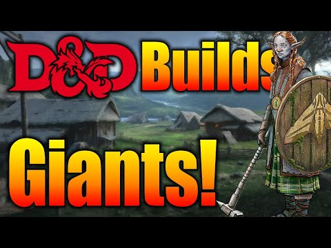 D&D Giants 5e (Firbolg and Goliath) What Character Class Should You Play
