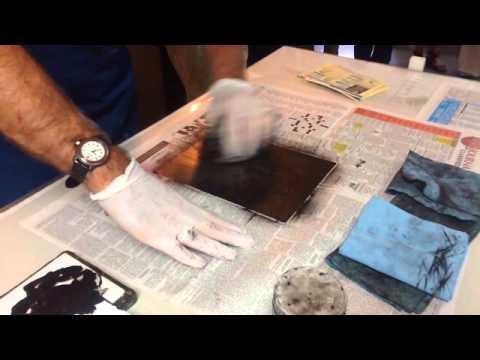 Lincoln Draper Gravure Printmaking Demo