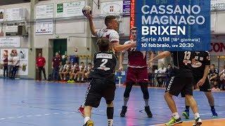 Serie A1M [18^]: CASSANO MAGNAGO - BRIXEN 30-30