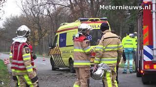 Ernstig ongeval in Witharen