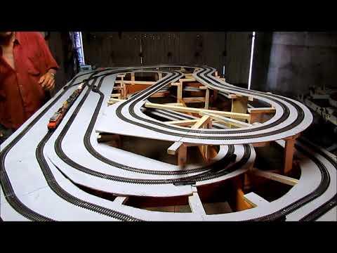 réseau Marklin en construction –  premiers essais  – 22/07/2019