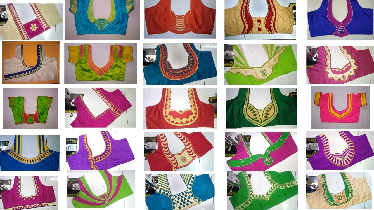 25 Designer Blouse Collection Latest Design Of Ladies Blouses Youtube