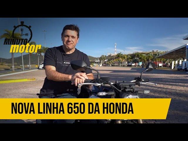 Conheça tudo sobre a nova linha 650 da Honda