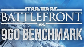 (PC) Star Wars Battlefront Beta - MAX SETTINGS - 960 Benchmark!
