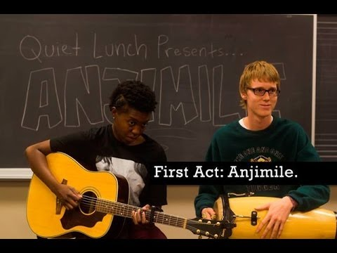 QUIET LUNCH MAGAZINE | The First Act: Anjimile.