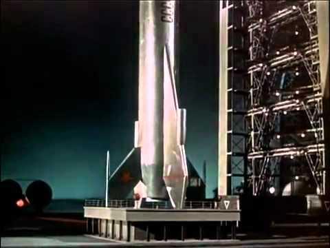 """Марсианская ракета из фильма """"Небо зовёт"""""""