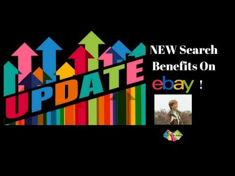 New Search Benefits From eBay!