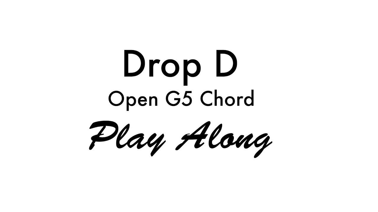 Drop d open g5 chord youtube drop d open g5 chord hexwebz Choice Image