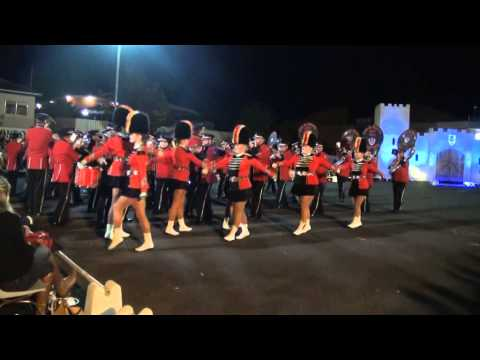 Fire and Rescue NSW Band and Marching Team - Condobolin Tattoo 2014