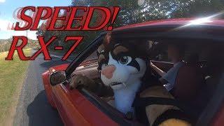 Speeeeeeed! Red Car Fast! Mazda RX-7