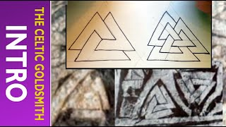 How to Draw Celtic Patterns 119 - Odins Triangle (Viking Pattern) part 1of4