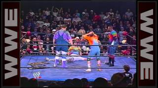 bubba ray d von dudley join forces and hit their first 3d ecw crossing the line 1997