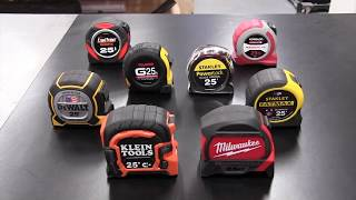 Best Tape Measure - Head-2-Head