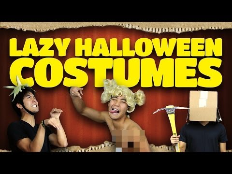 Lazy Halloween Costume Ideas