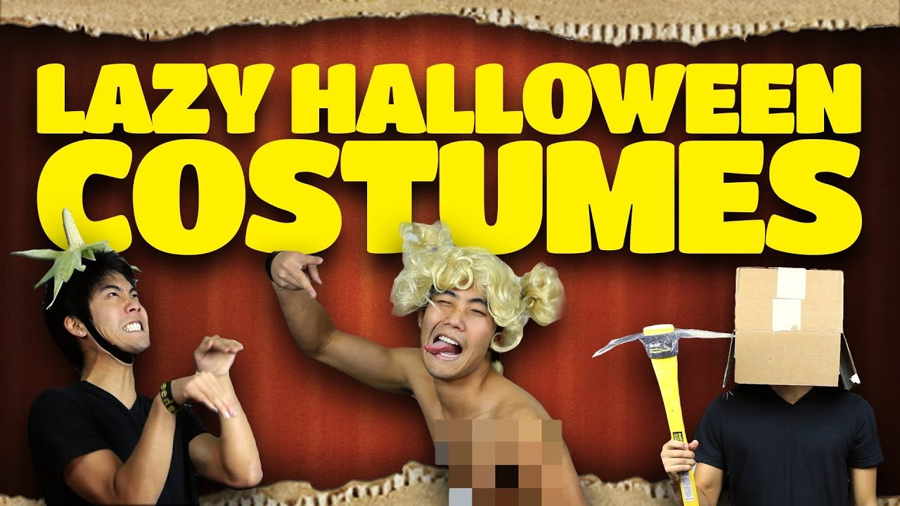 Lazy halloween costume ideas youtube lazy halloween costume ideas solutioingenieria Images