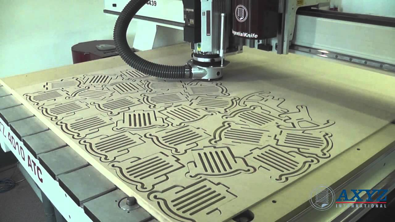 Nested Based Production Cnc Router Axyz International