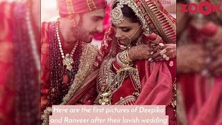 First OFFICIAL Pictures REVEALED of Deepika Padukone & Ranveer Singh Wedding