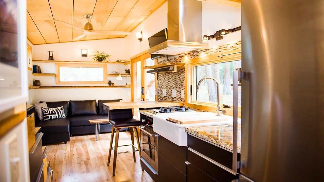 Absolutely Gorgeous The Elsa By Olive Nest Tiny Homes Living Design For A Tiny House Youtube