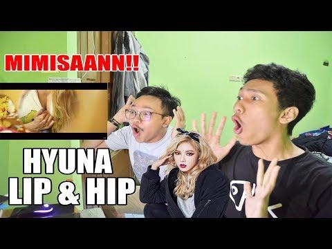 HYUNA - LIP & HIP MV REACTION ( ASDFGHJKL!@#%@!!!!!!!! )