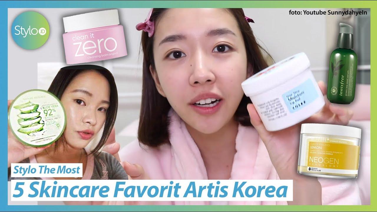 5 Skincare Terlaris Terbaik Favorit Artis Korea Serum Peeling Pad Aloevera Gel Stylo Id Youtube