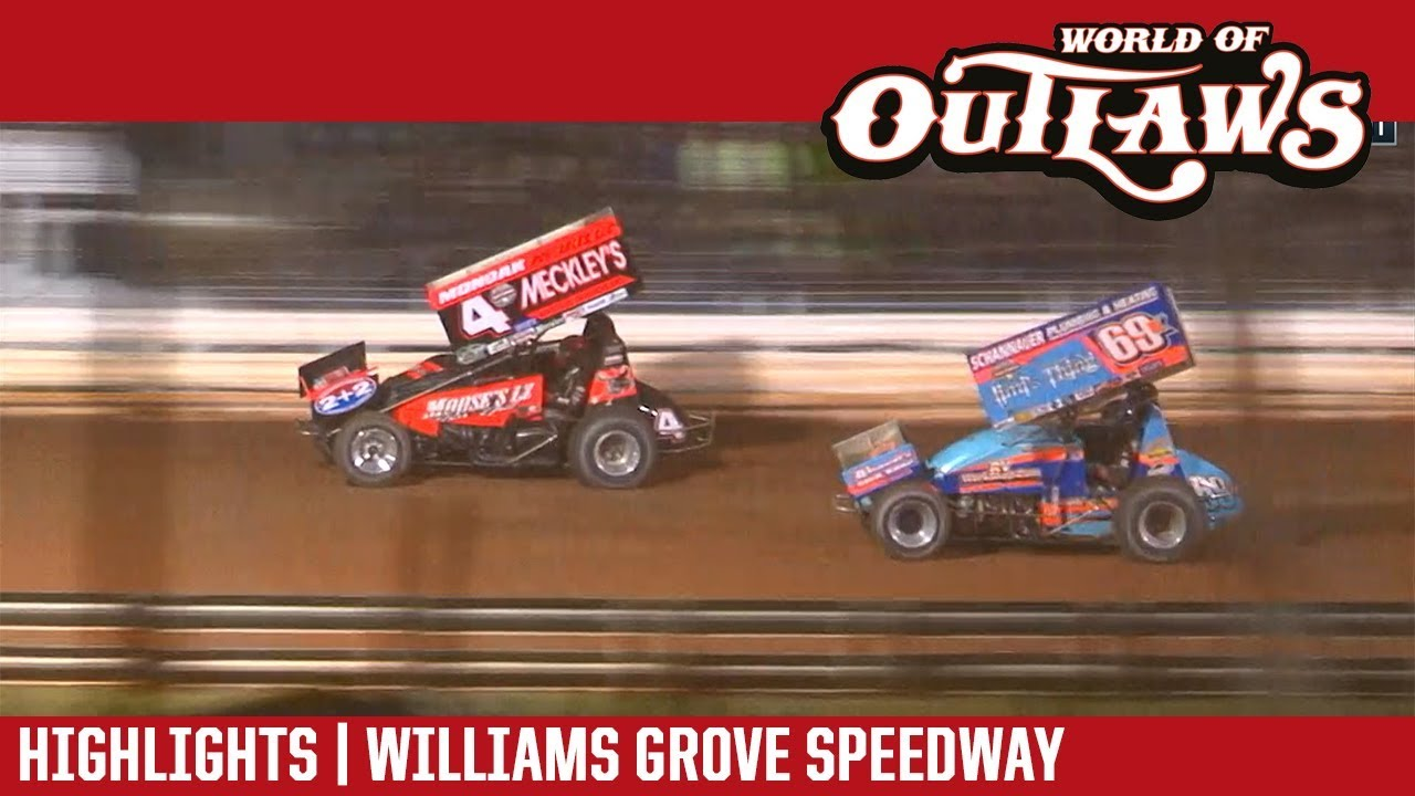 world-of-outlaws-craftsman-sprint-cars-williams-grove-speedway-september-29-2018-highlights