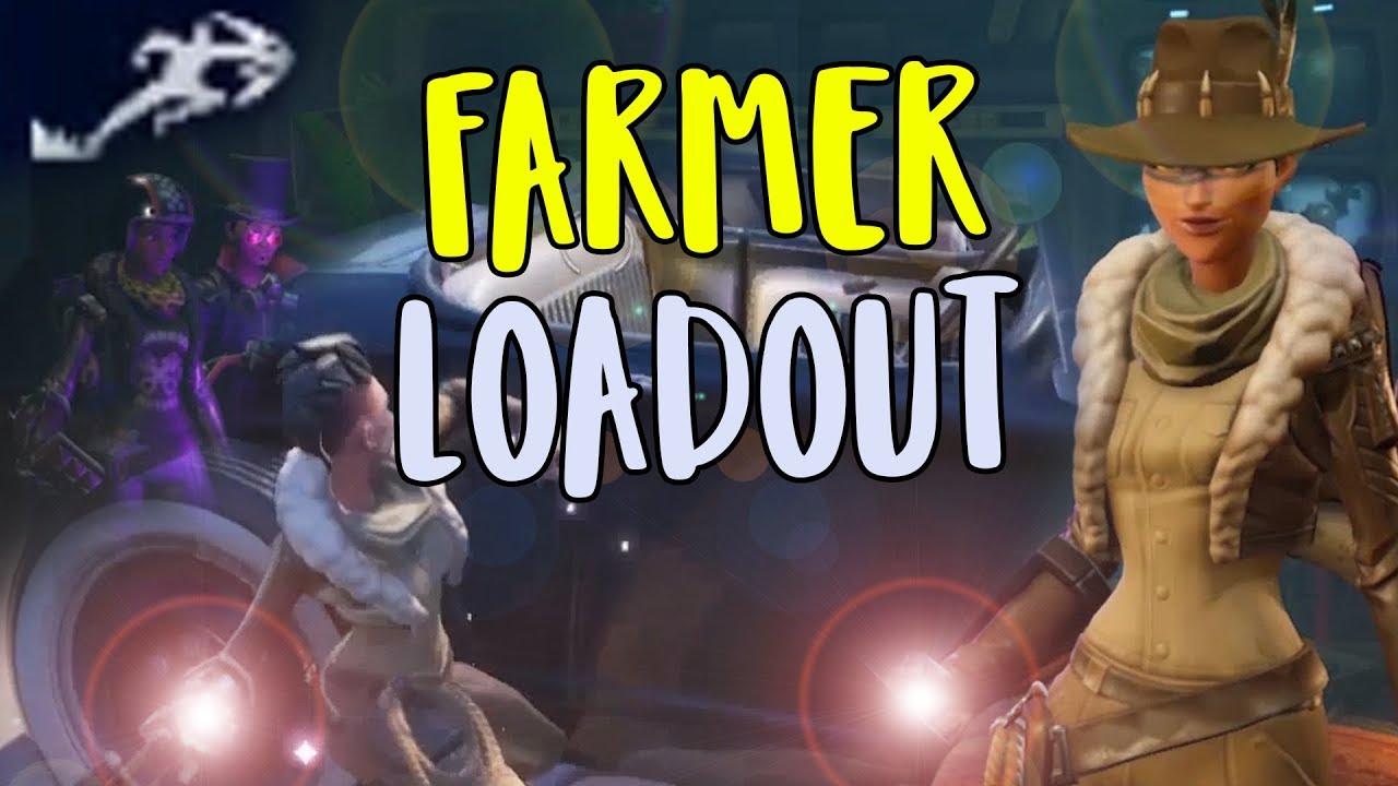 new striker amt farmer hero loadout in fortnite 8 0 save the world - fortnite best outlander for farming 2019