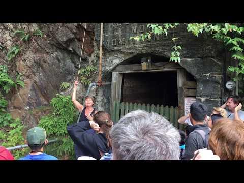 Britannia Mine Guided Tour : Part  3 Blow That Horn!