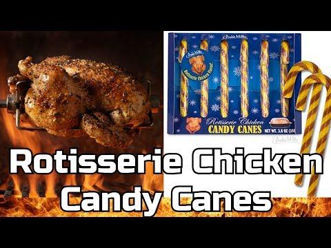 Lisa Foxx - Rotisserie Chicken Candy Canes Exist....EW!