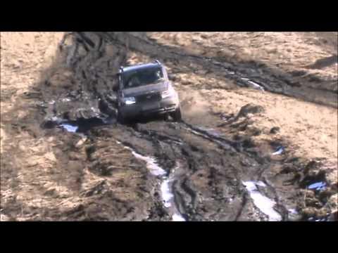 Весенний прорыв УАЗ Патриот UAZ NIVA Toyota Hilux