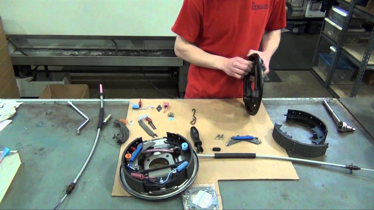 GM 912 Inch Drum Brake Rebuild  YouTube