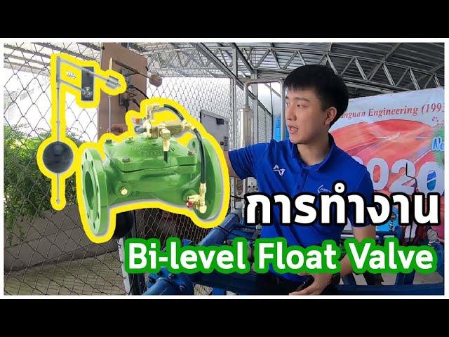 Bi-level Float valve วาล์วควบคุมระดับน้ำ Bermad
