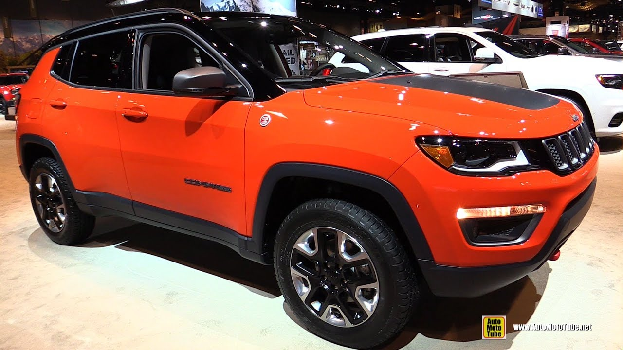 2018 jeep trailhawk. beautiful jeep 2018 jeep compass trailhawk  exterior and interior walkaround 2017  chicago auto show for jeep trailhawk youtube