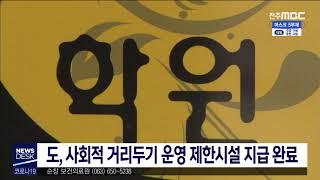 [뉴스데스크] 사회적 거리두기 운영제한시설 지원 완료