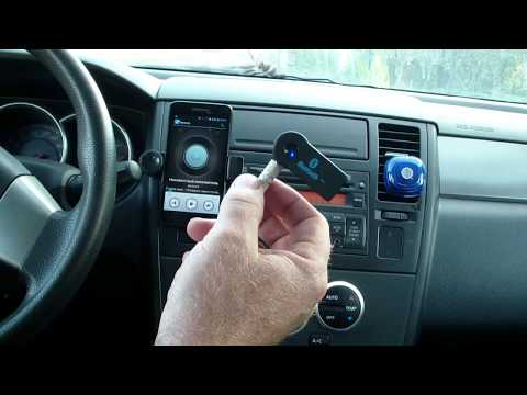 Bluetooth AUX адаптер. Тест на стерео и фон