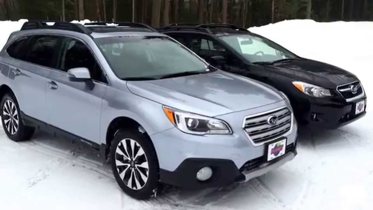 Subaru Outback Vs Forester >> Subaru Outback vs Subaru Crosstrek - YouTube