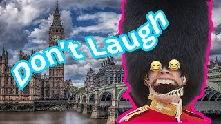 Royal Queen Guards Laughing INSANELY HARD NO LAUGH CHALLENGE!!!