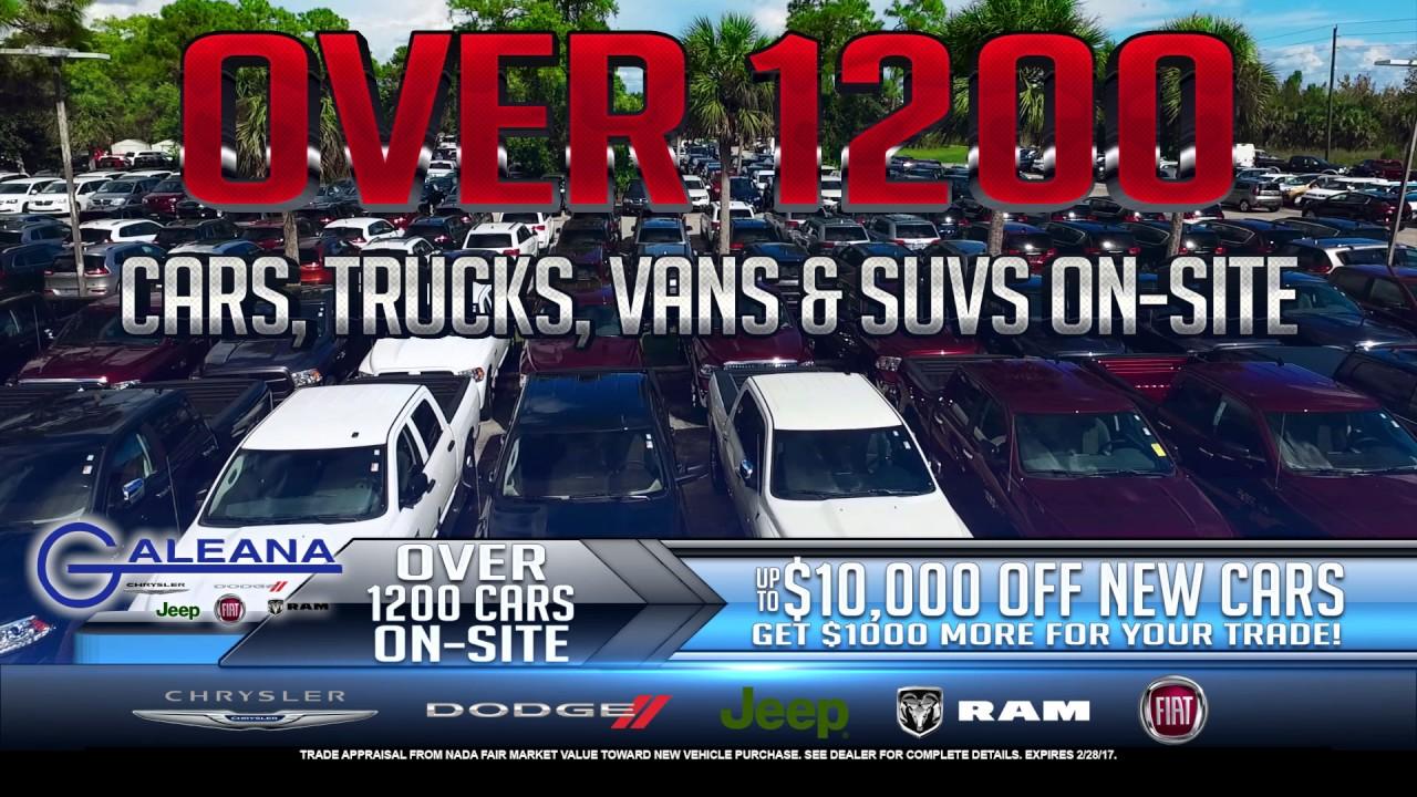 Itu0027s Presidents Day Savings At Galeana Chrysler Dodge Jeep Ram!