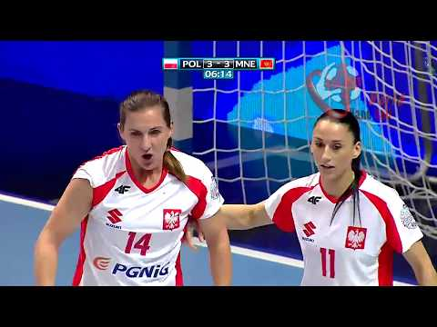 Poland X Montenegro WOMEN'S EHF EURO 2018 QUALIFICATION FULL MATCH