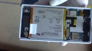 Disassembly Sony C6603 Xperia Z - Wechsel eines Displays beim Xperia Z