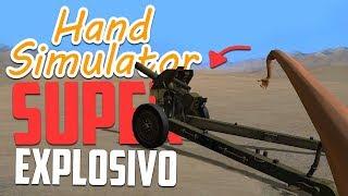 NOVO MODO DE JOGO! - Hand Simulator Momentos Engraçados