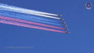 Авиация ВМФ в Санкт-Петербурге. Радиообмен / RuNAVY Aviation Parade in Saint-Petersburg live ATC