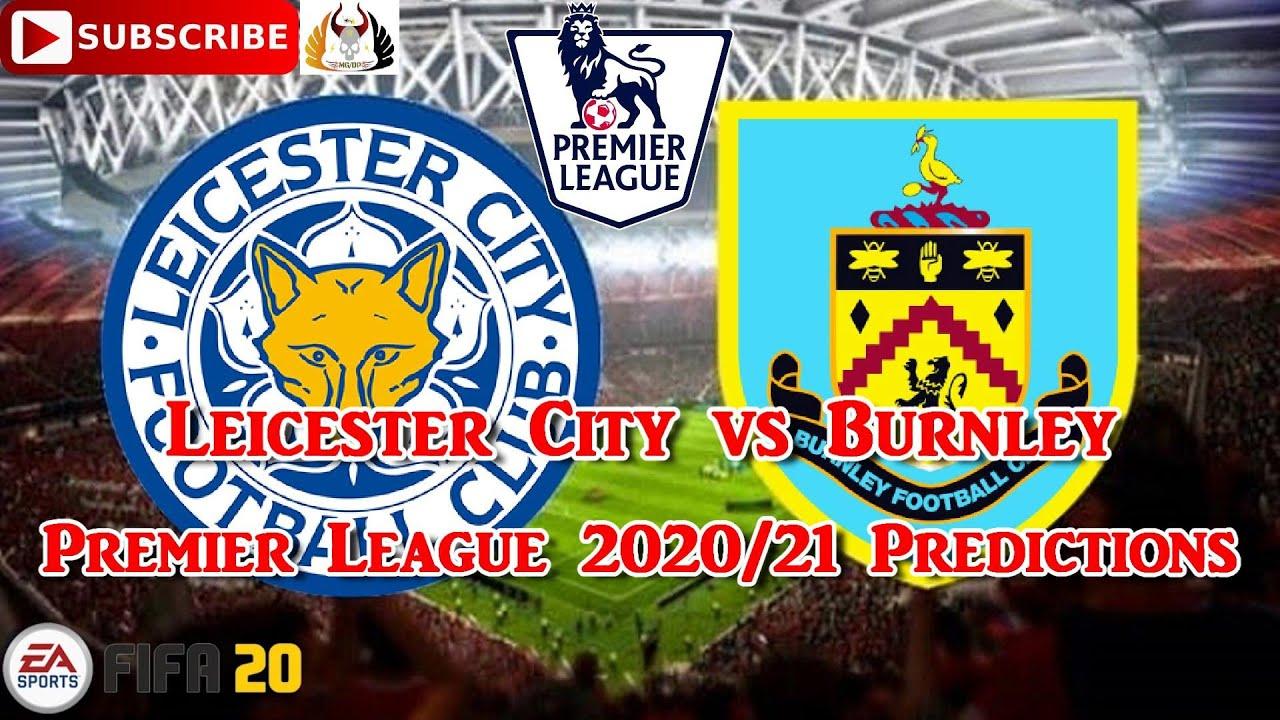 Leicester City vs. Burnley   2020-21 Premier League ...