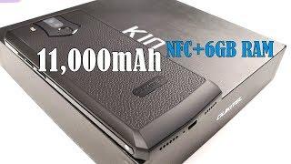OUKITEL K10 Unboxing - 11,000mAh BATTERY BEAST ( NFC, 6GB RAM, 18:9 )
