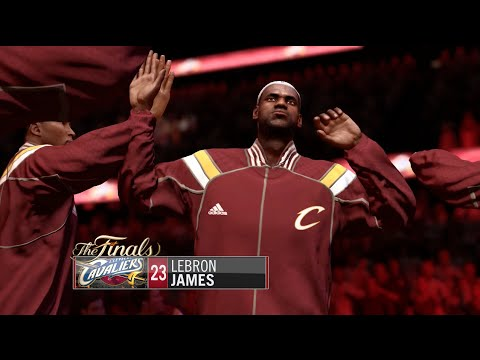 NBA Live 15 (Xbox One): Cavs vs Clippers Gameplay (NBA Finals Presentation)