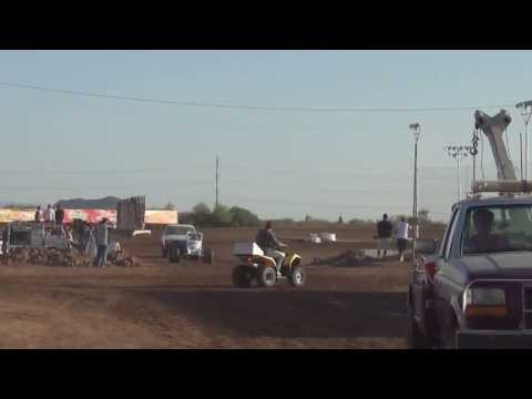 Sprint Car Racing at Canyon Speedway Park 2013