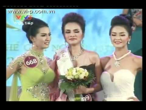 webdanang.com CHUNG KET HHTGNV 2010 -Luu Thi Diem Huong - Miss Vietnam World