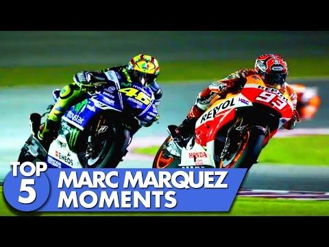 Top 5 Marc Marquez Moments